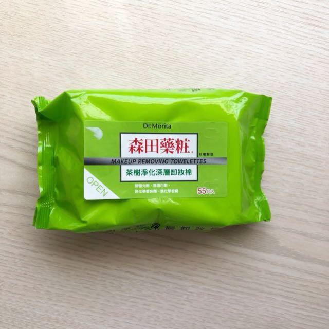 森田藥妝茶樹淨化深層卸妝棉