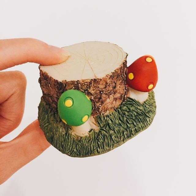 裝飾木頭蘑菇款