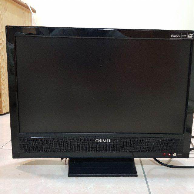 搬家急售 奇美22吋lcd液晶電視