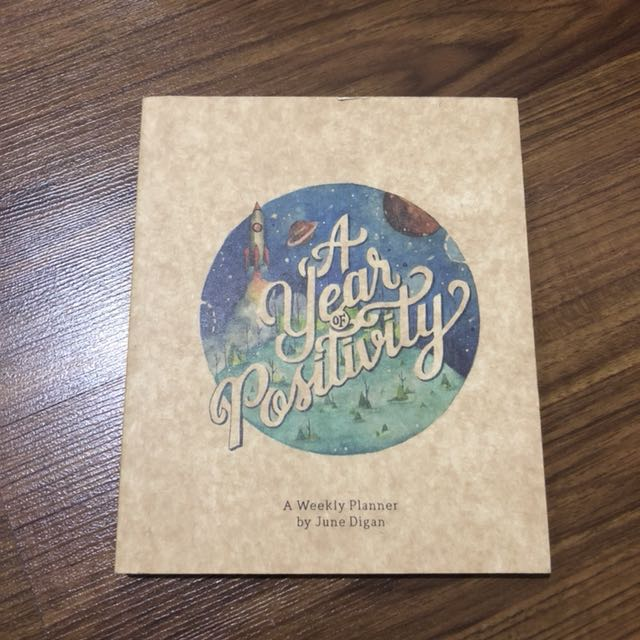 A Year of Positivity Planner