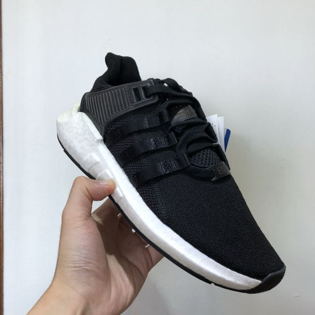 cheaper 4f756 dc380 Adidas Eqt Support 9317 Black Pk Prime Knit, Mens Fashion, Footwear,  Sneakers on Carousell