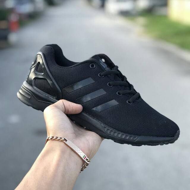 finest selection 48bdc 6fa38 Adidas ZX Flux All Black