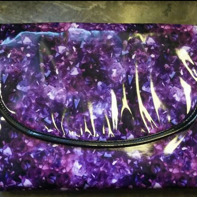 Brand new Amethyst make up bag organizer
