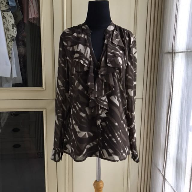 Ann taylor brown top