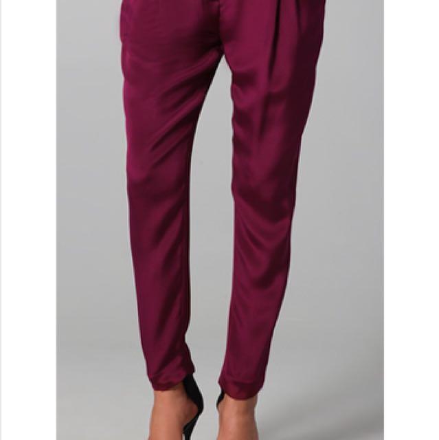 Authentic 3.1 Philip Lim Silk Trousers