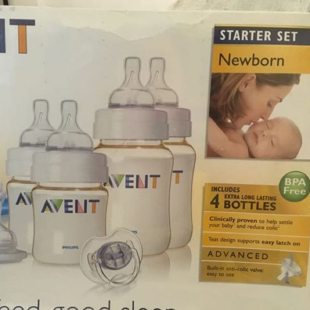 Avent feeding bottle set