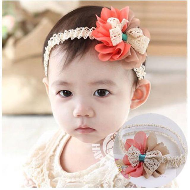 Baby Headband Flower