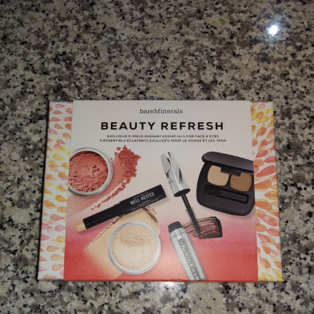 Bare Minerals 5 piece essentials for face and eyes