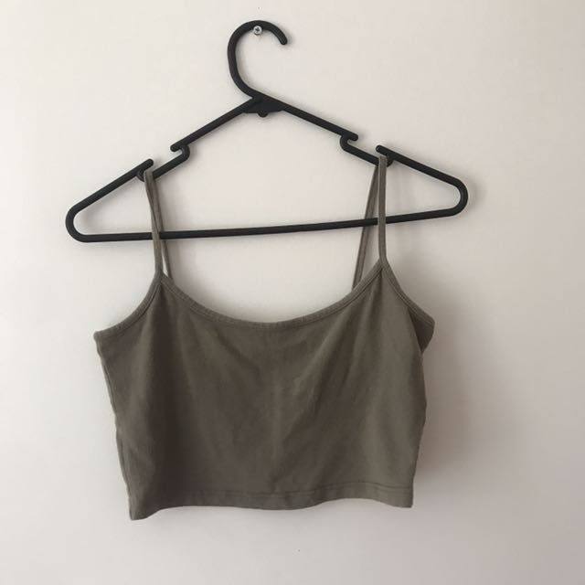 BASIC CROP TOPS - 3 COLOURS AVAILABLE