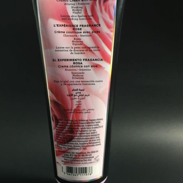 Bath & Body Works - Rose Cosmic Cream