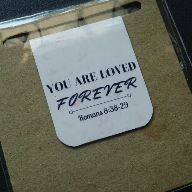 Bible verse magnetic bookmark