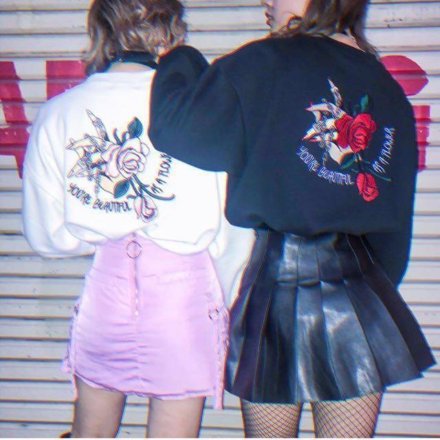 a045ec82b Black leather pleated skirt/ tennis skirt, Women's Fashion, Clothes ...