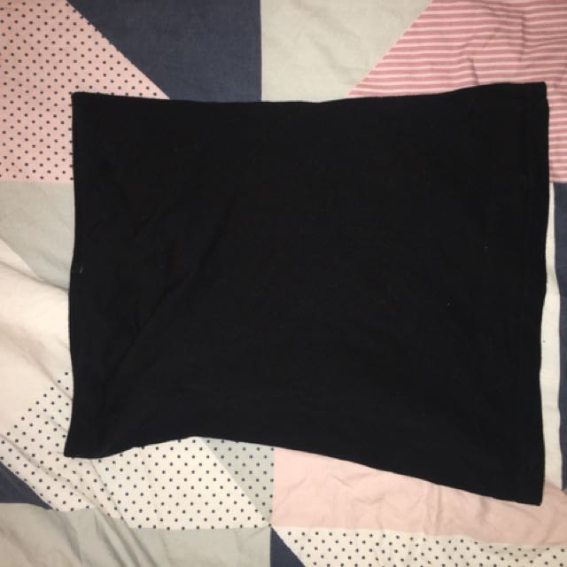Black size 8 boobtube