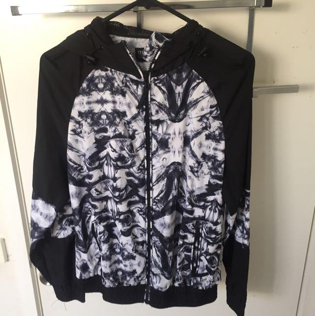 Black Smokey Activewear Jacket