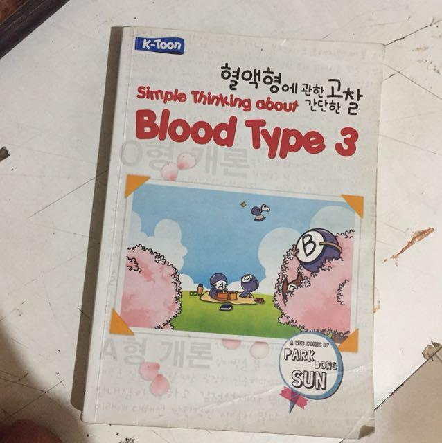 BLOOD TYPE 3