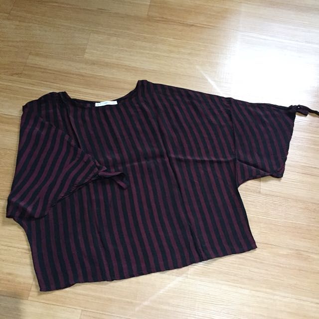 Blouse Batwing Pull&Bear