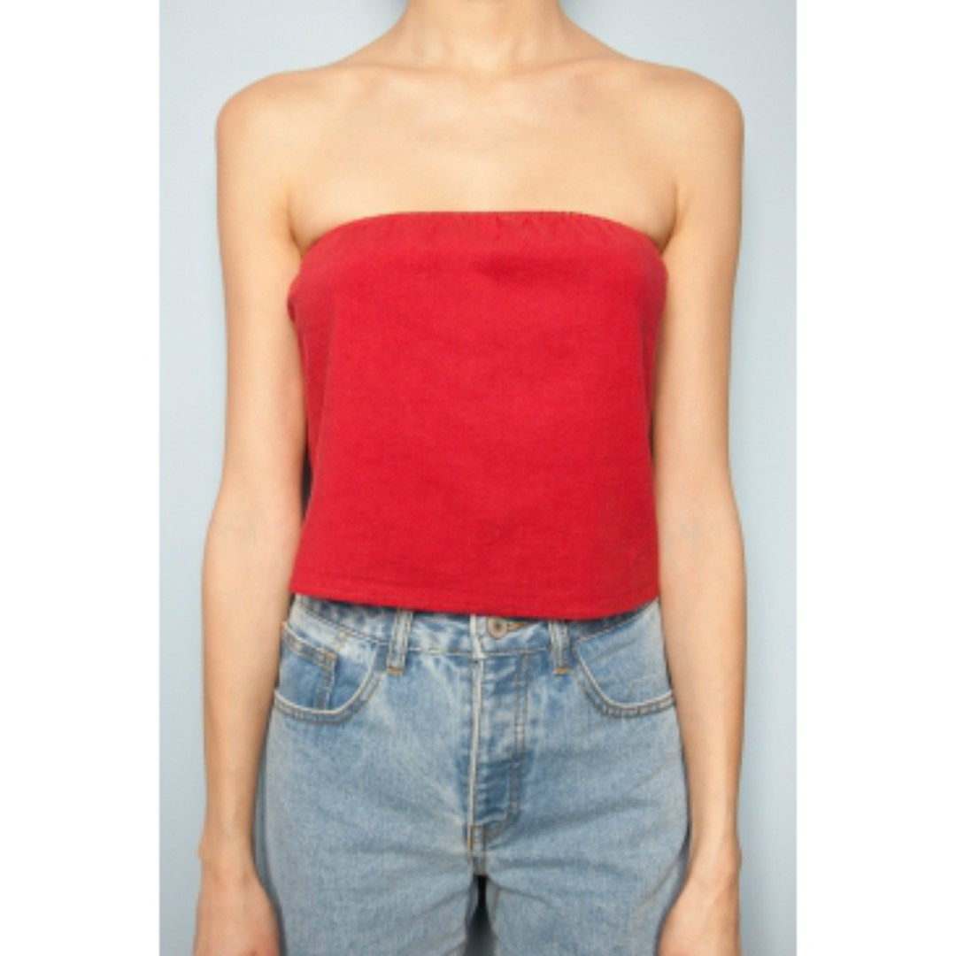 af896abc331 BNWT Brandy Melville Red Cassidy Tube Top