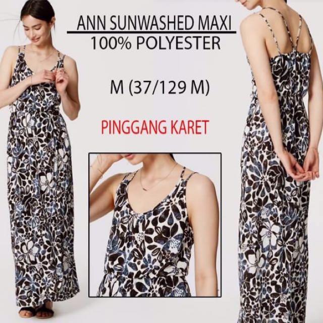 Branded Ann Sunwashed Maxi Dress