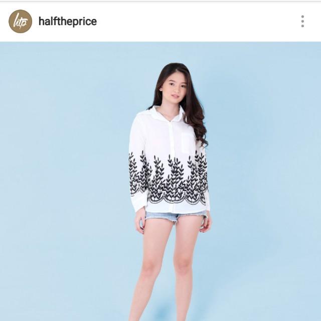 BrandNew Embroidery Longsleeves Polo (HTP Brand)