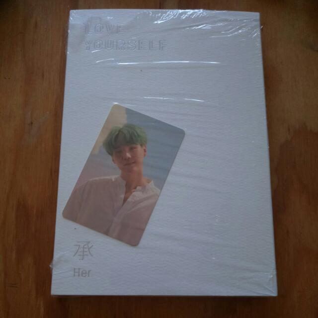 BTS LOVE YOURSELF HER O VERSION WITH PC