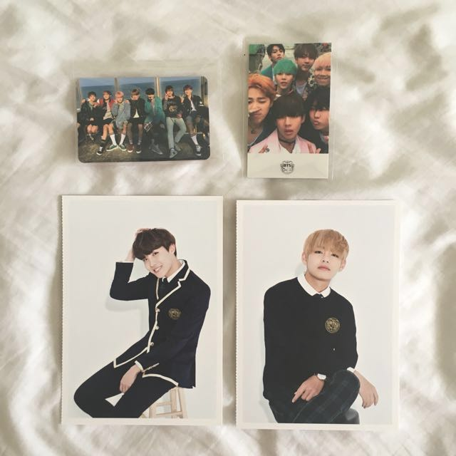 BTS Photocards, Group YNWA HYYH pt.2 Army 3rd term