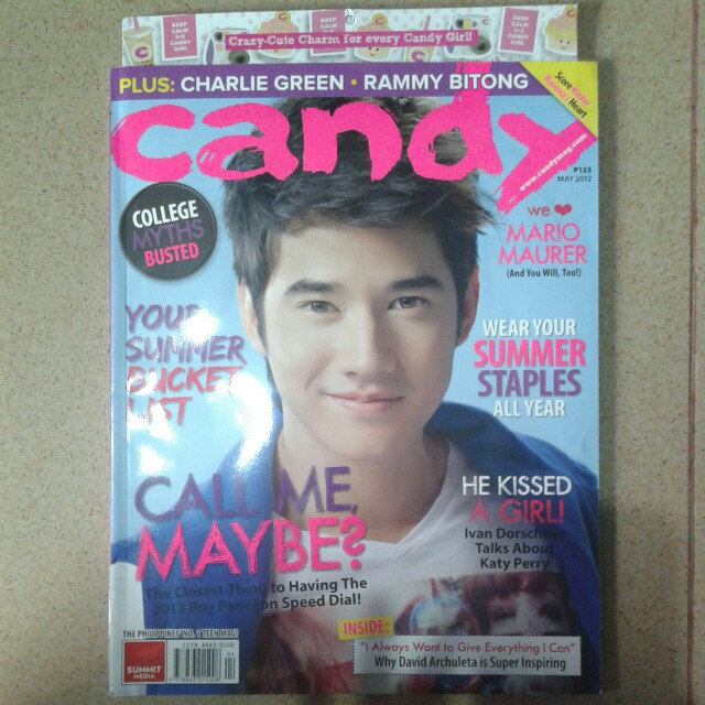 Candy Magazine May 2012
