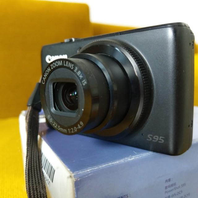 Canon Powershot S95   Bekas terawat