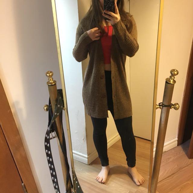 Caramel cardigan