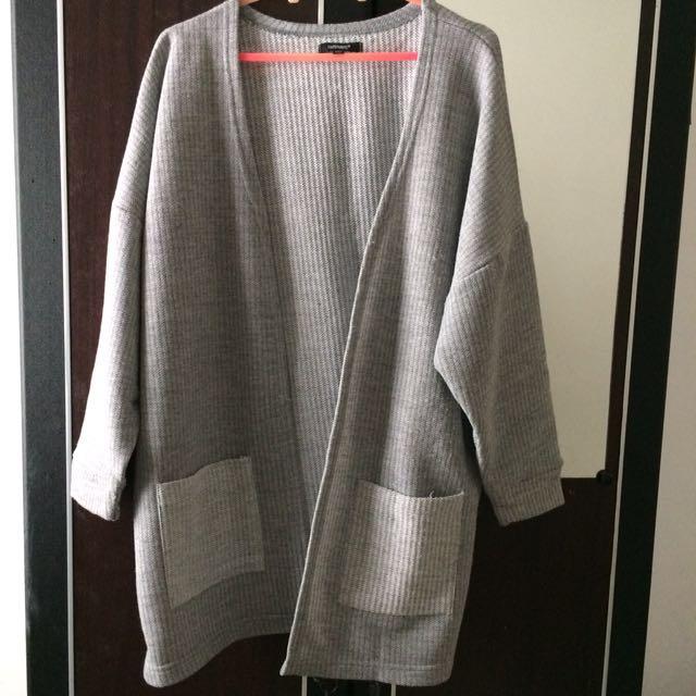 Cardigan Hardware Grey