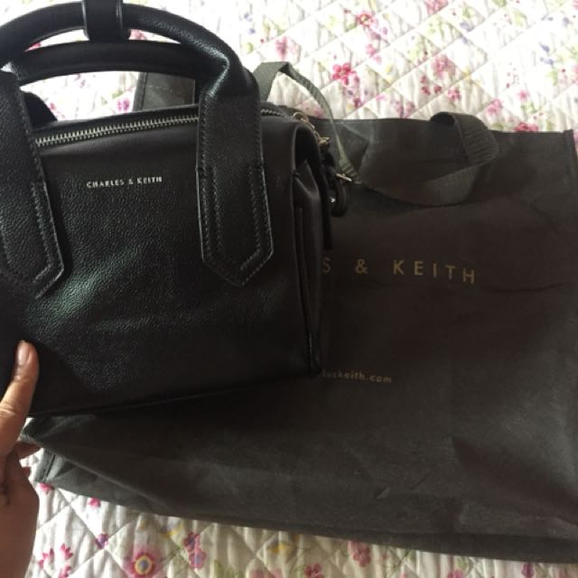 Charles n keith bowling bag