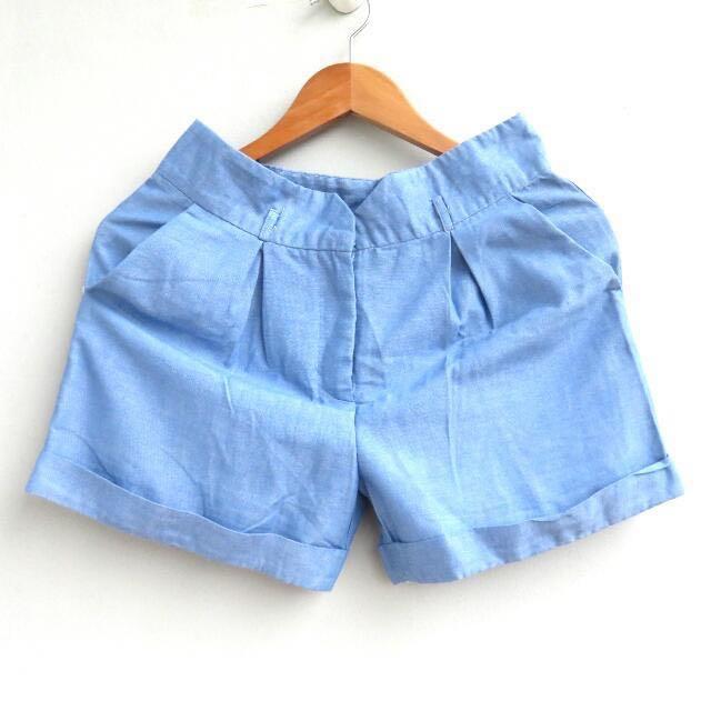 #cintadiskon Blue Shorts Celana Pendek