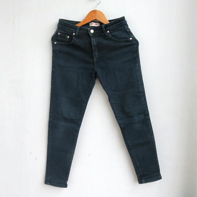 #cintadiskon MB Girl Black Jeans