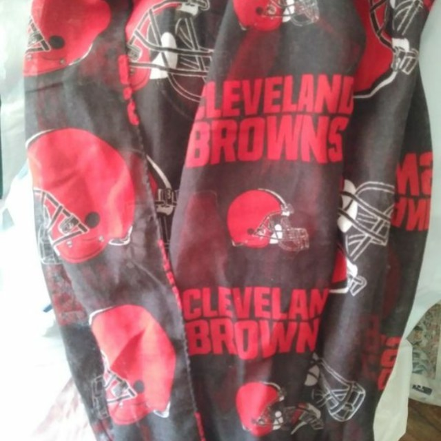 Cleveland Browns infinity scarf (new)