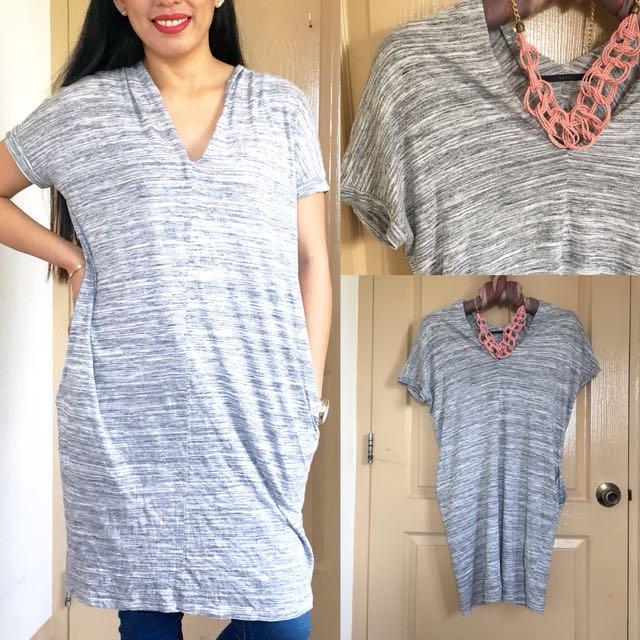 Cotton Dress/Long Blouse