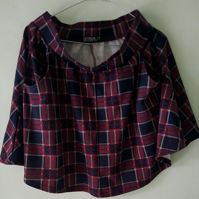 Cotton On Checkered skirt