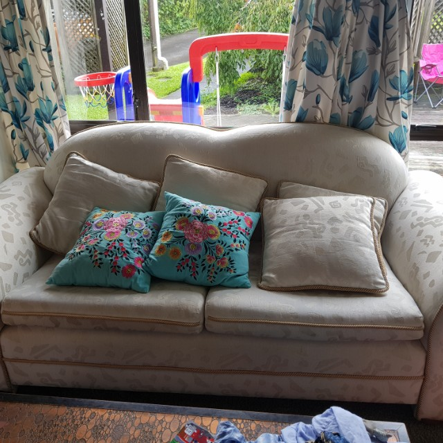 Cream couches for sale