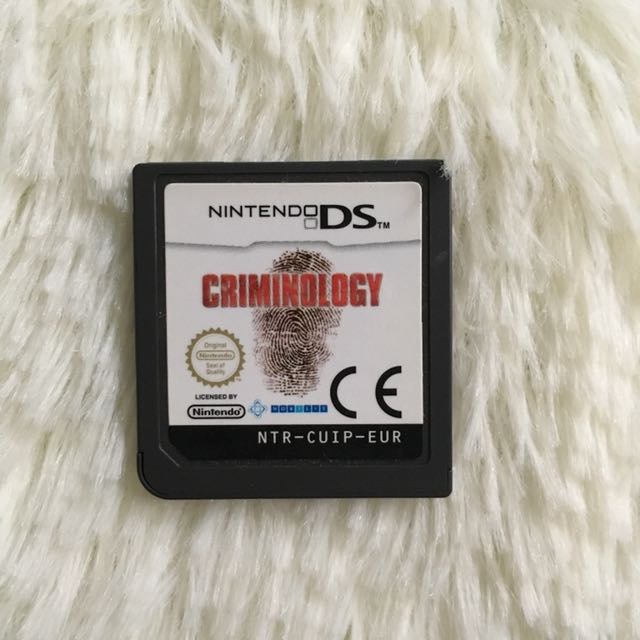 Criminology Nintendo DS Game