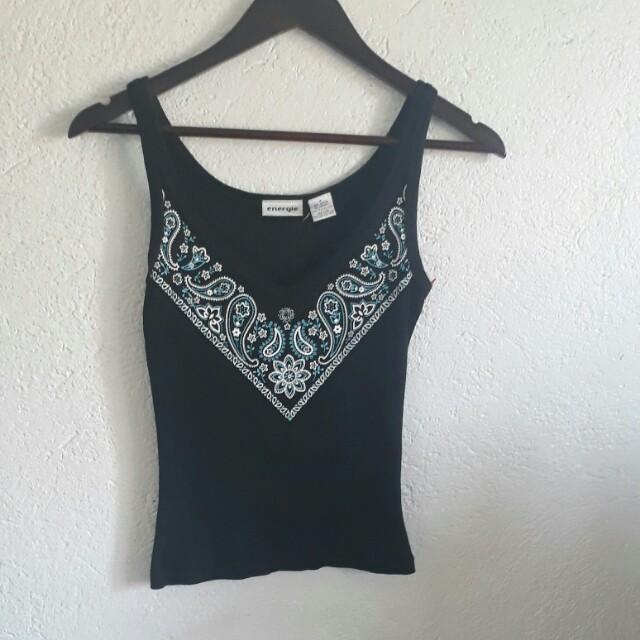 Crop top sleeveless