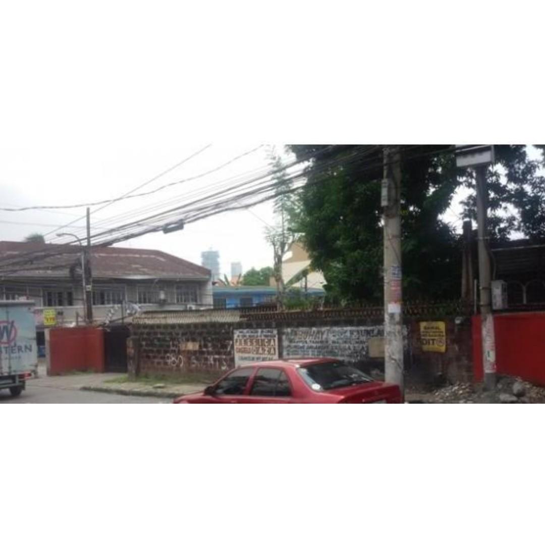 DILIMAN 600SQM COMMERCIAL Lot Only Quezon City For Sale