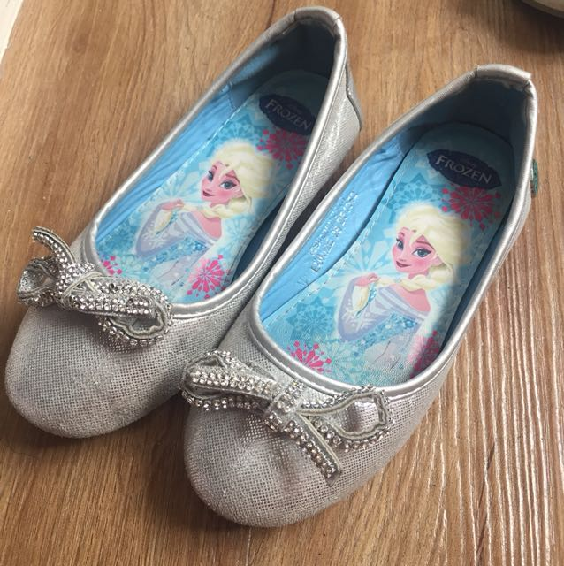 Disney Frozen Silver Shoes for Girls