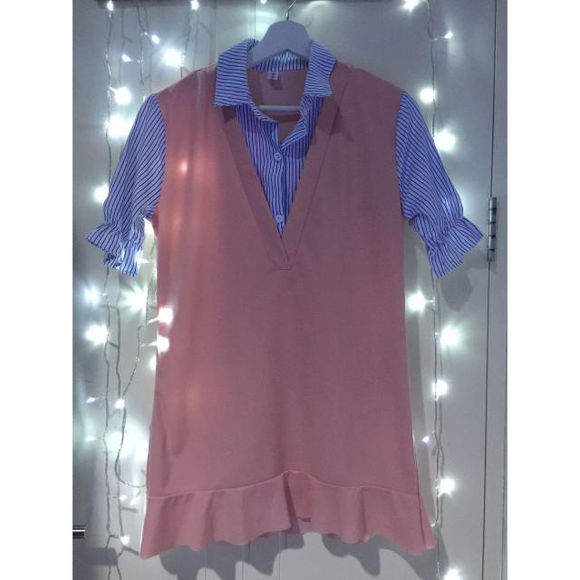 Dress Kerah Cute