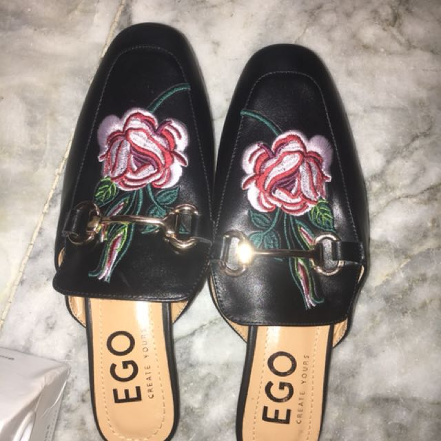 bcc91d4845b Ego Mules   Gucci Inspired Mules   Slip-ons   Sandals   Slides ...