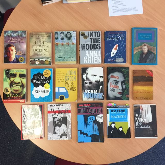 English text/novels