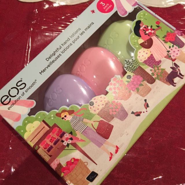 EOS 3 PACK HAND LOTION (limited edition)