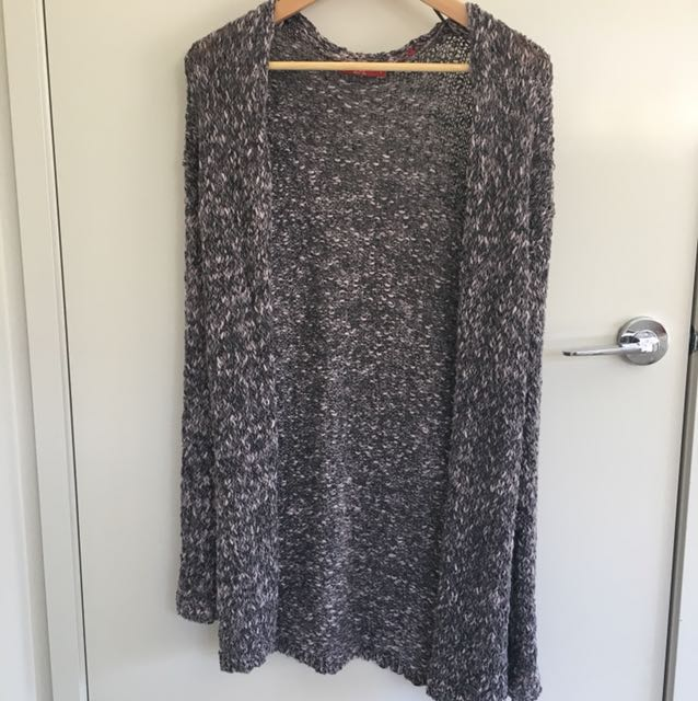Esprit Knitted Long Cardigan