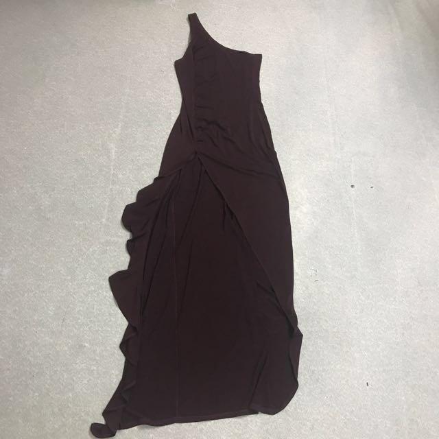 Fishtail prom dress
