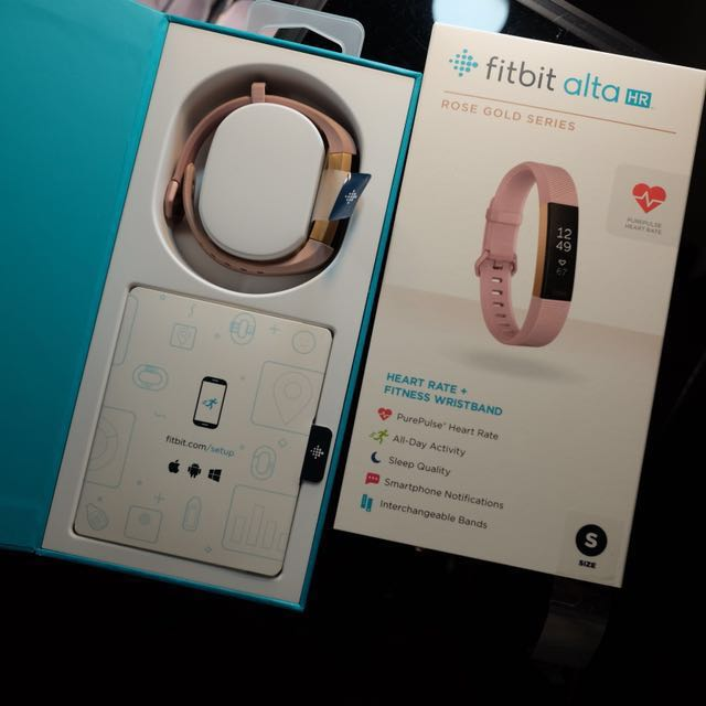Fitbit Alta HR: Limited Edition Rose Gold