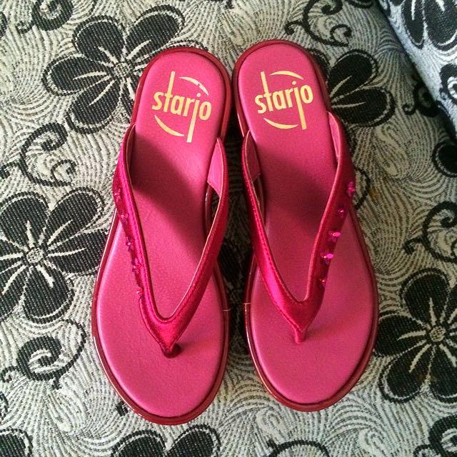 Flip Flops Maroon