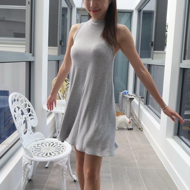 FOREVER 21 Grey Dress XS