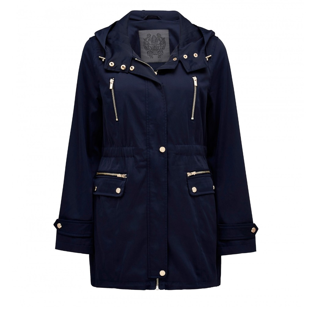 Forever New Carina Lightweight Parka Trench Coat, RRP$99.95